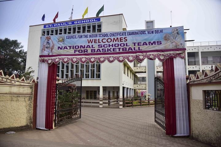 St  Pauls School-School Entrance