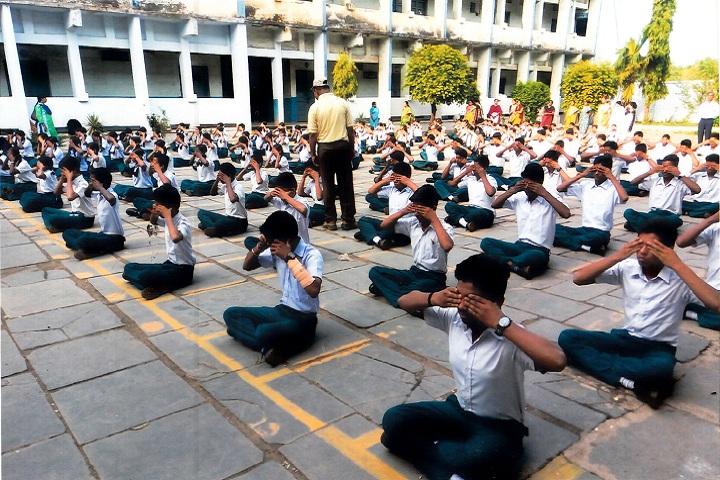 English Medium Senior Secondary School-Yoga