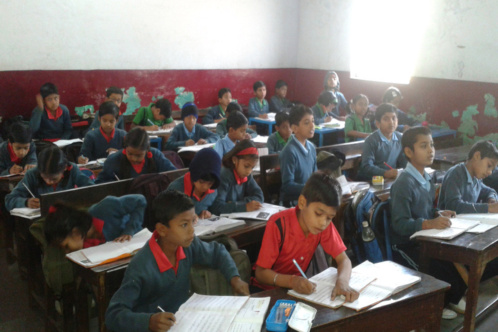 Gandhi Memorial Higher Secondary School-Classroom
