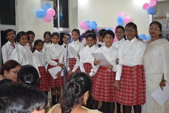 New Stewart School-Singing