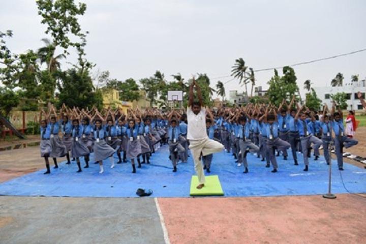 New Stewart School-Yoga Day