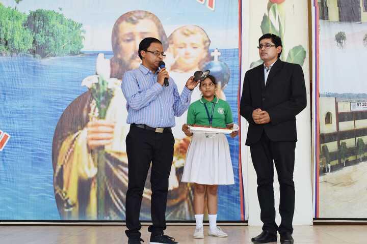 St Josephs School - Presenting gift
