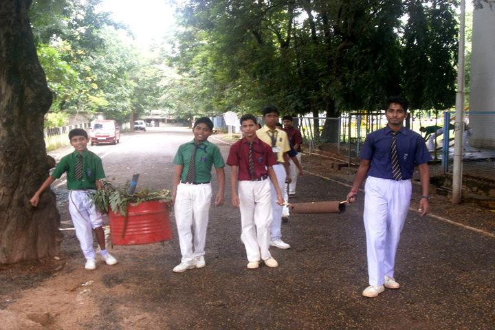 Stewart School - Swachh Bharath