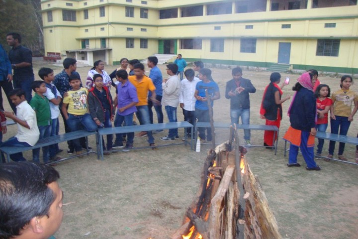 Amarvani School - Camp Fire
