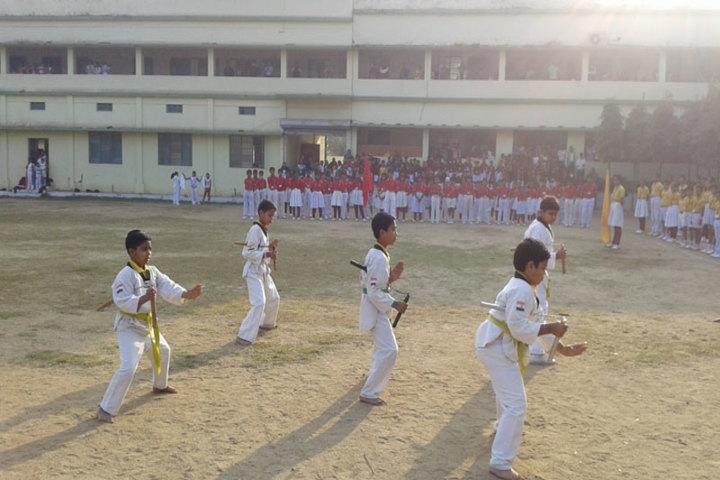 Amarvani School - Karate