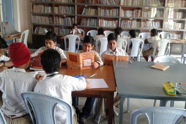 Amarvani School - Library