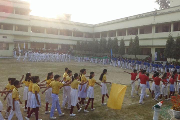 Amarvani School - March Past