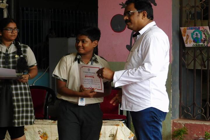 St Xaviers High School - Certification