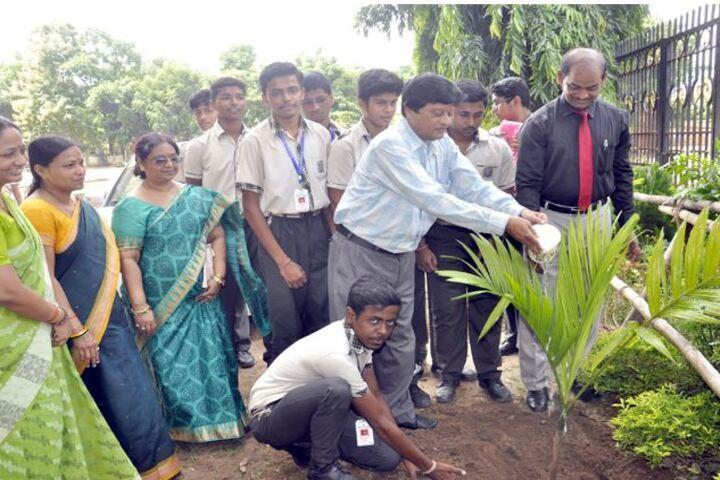 St Xaviers High School - Tree Planting