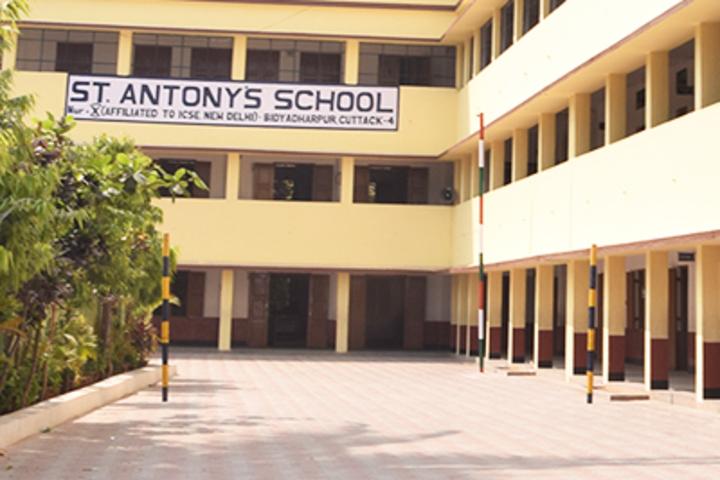 St Antonys School-School Front