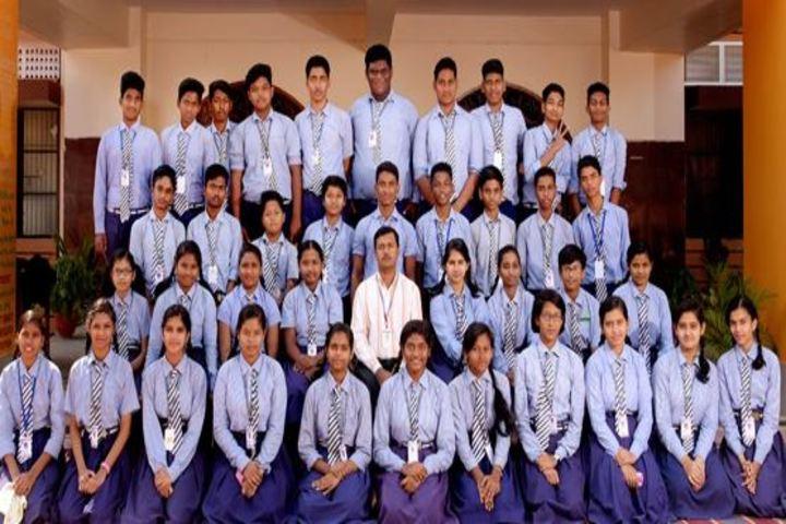 Carmel Convent School-Batch Students