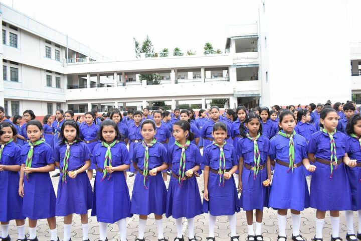 Loyola School-Scouts and Guides