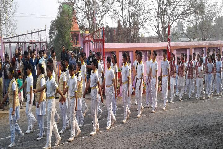 Carmel School - March past