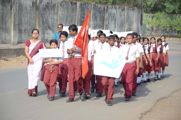 Vivekananda International School-Rally