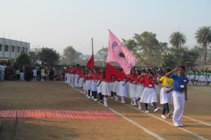 St Johns School - March Past