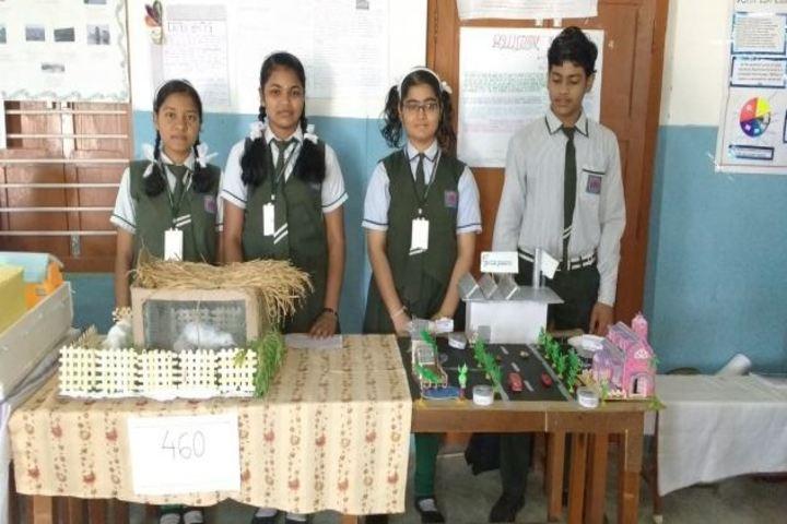Deepti Convent School - Science Exhibition