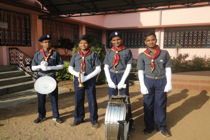 Deepti Convent School - Scouts and Guides