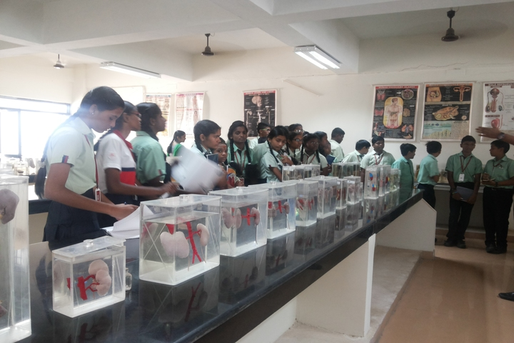 Aklavya International School - Biology Lab
