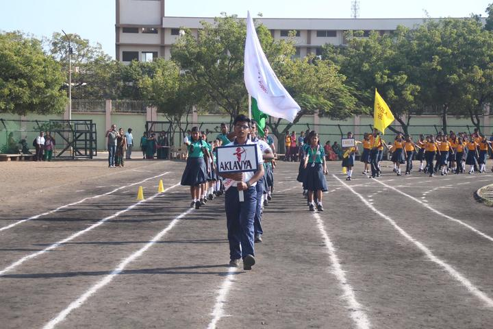 Aklavya International School - March Past