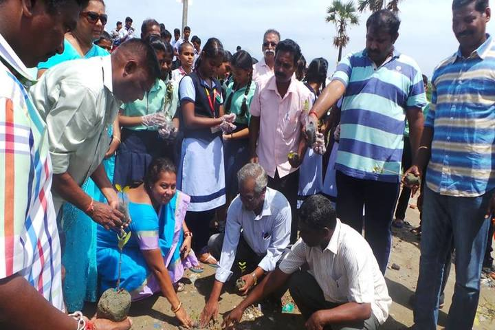 Aklavya International School - Tree Planting