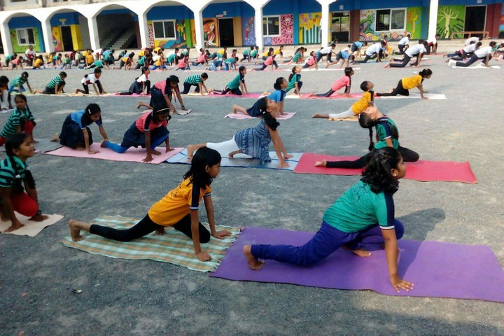 Aklavya International School - Yoga