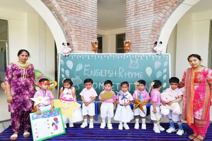 Baring School - Rhyme Competition