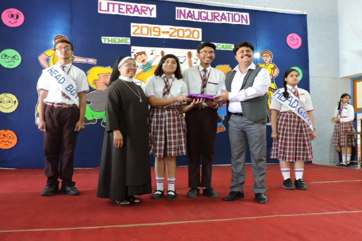 St Josephs Convent School-Literary Inauguration