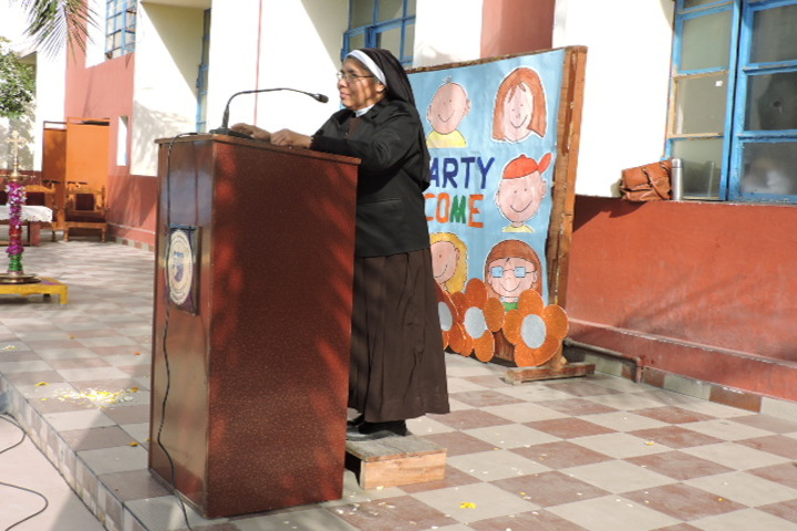 St Josephs Convent School-Speech