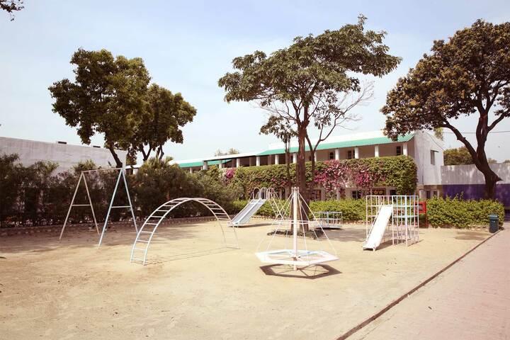 S D Model School-Games Area