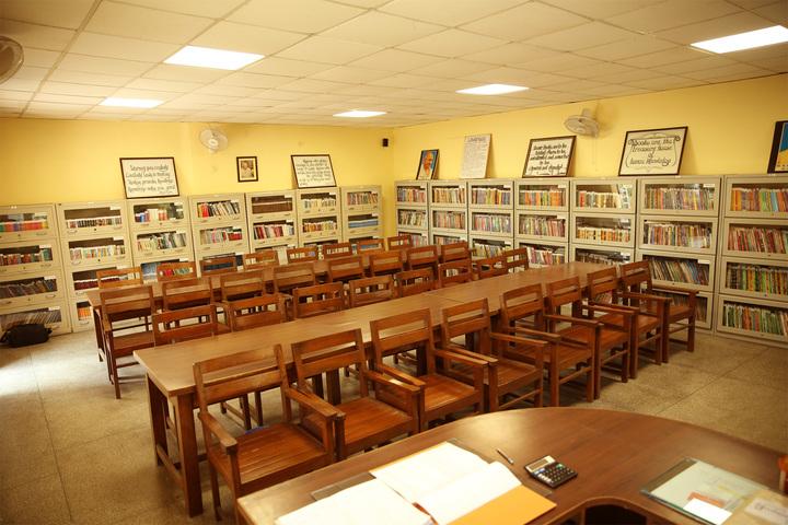 S D Model School-Library