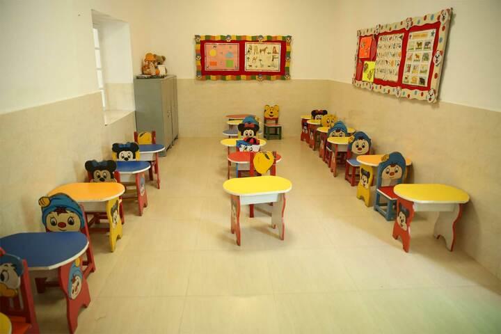 S D Model School-Nursery Classroom
