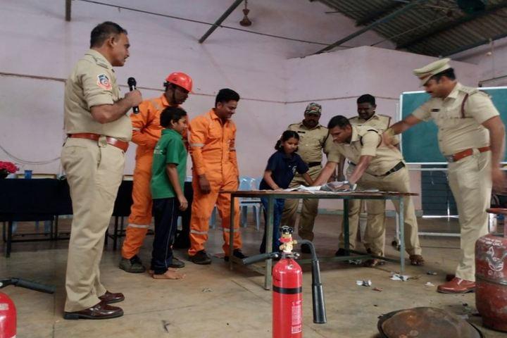 Jawahar Navodaya Vidyalaya - Fire Safety Awareness
