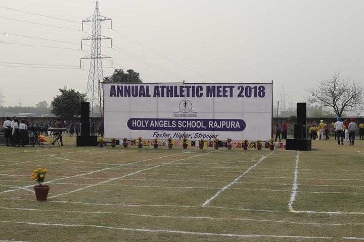 Holy Angels School - Annual Athletic Meet