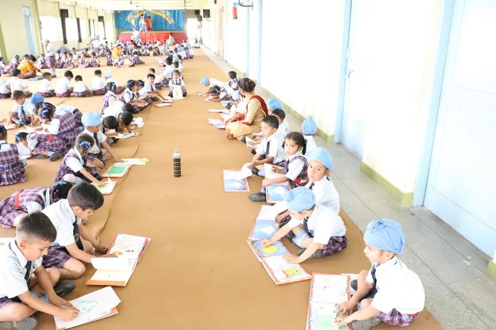 Christ The King Convent School-Drawing Competition