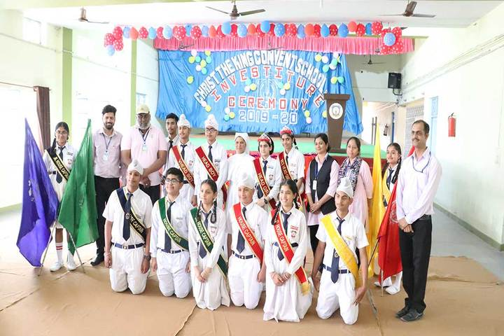 Christ The King Convent School-Investiture Ceremony