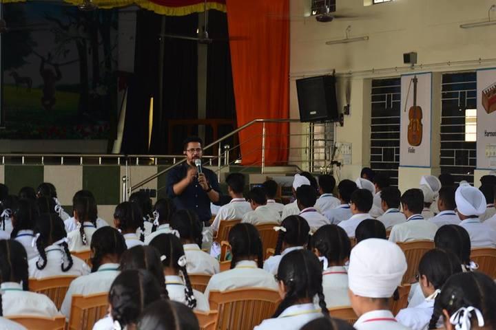 St Francis School-Guest Lecture