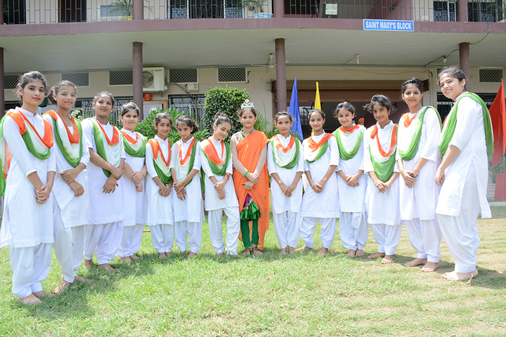 All Saints Convent School-Independence day Celebration