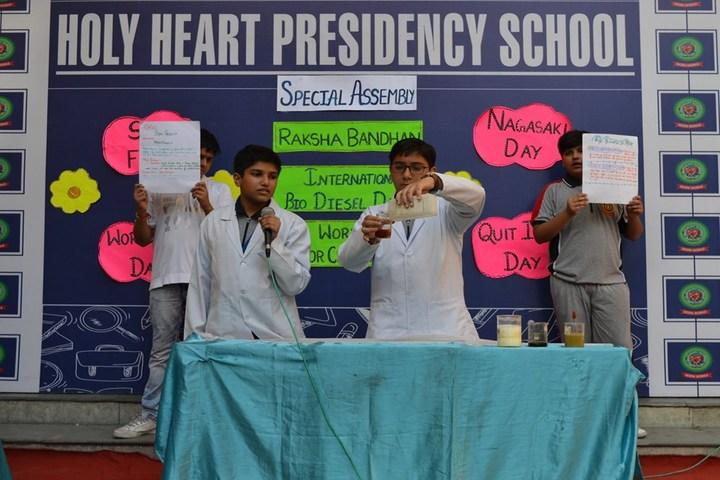 Holy Heart Presidency School-Skit