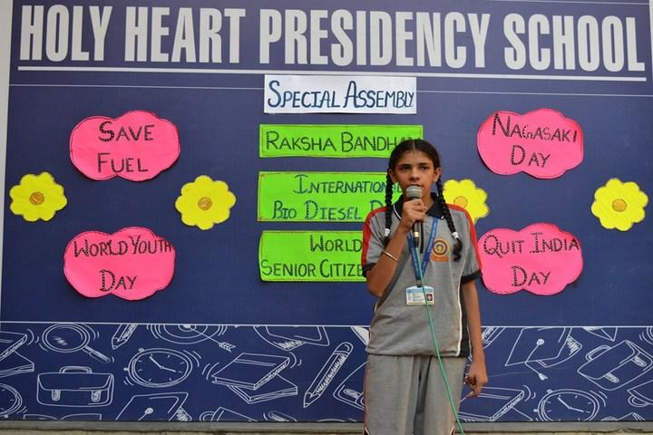 Holy Heart Presidency School-Story Telling