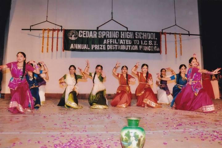Cedar Spring High School - Annual Function