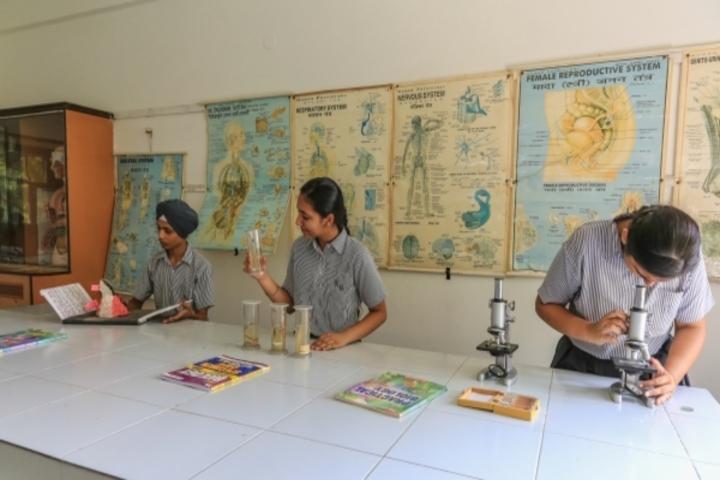 Kaintal School-Biology Lab