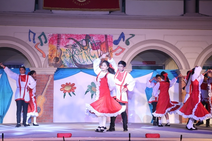 The British Co Education High School-Dance