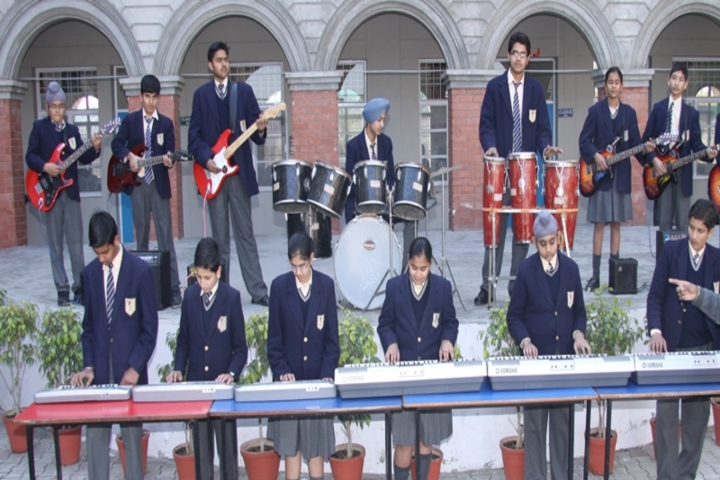 The British Co Education High School- Music