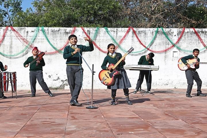 Punjab International Public School-Music Competition