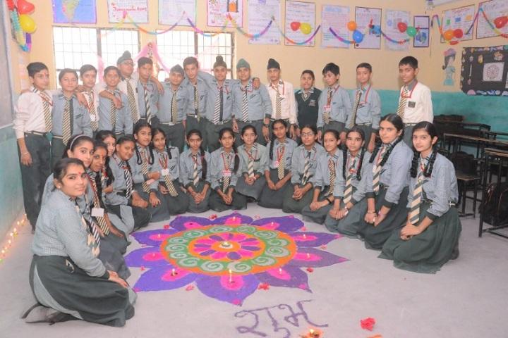 St Augustine School-Rangoli Competition