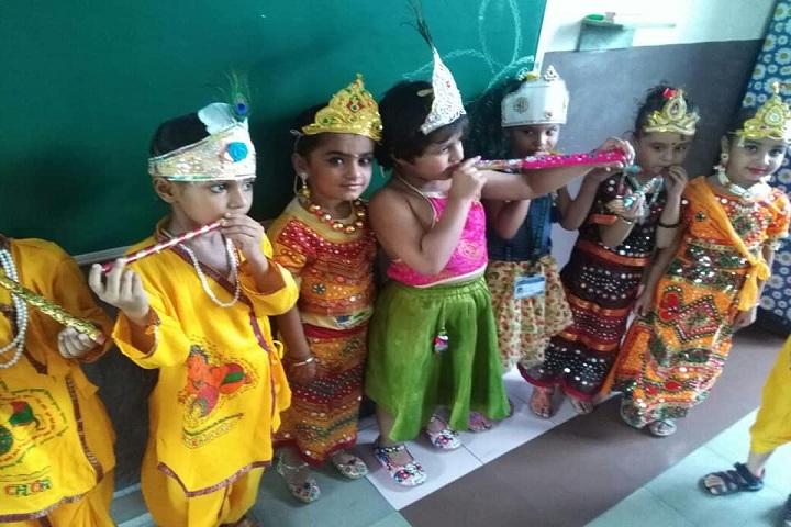 Doon Junior School-Krishnashtami