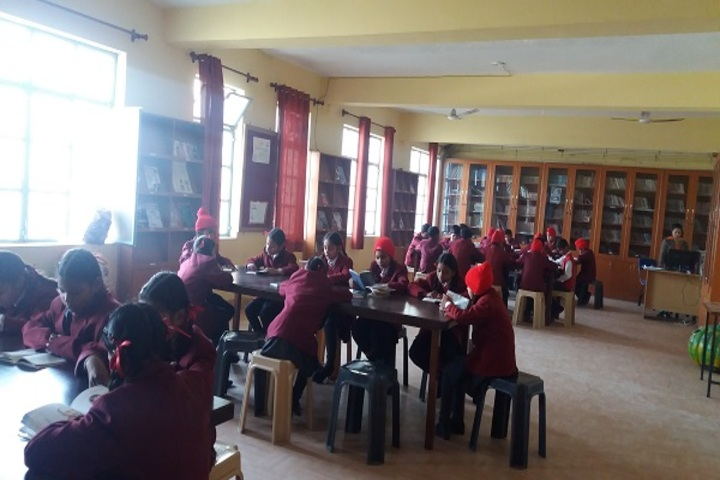Christ The King Convent School-Library