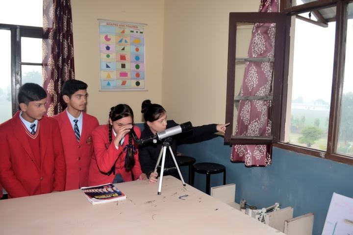 Indo Swiss International Convent School-Physics Lab