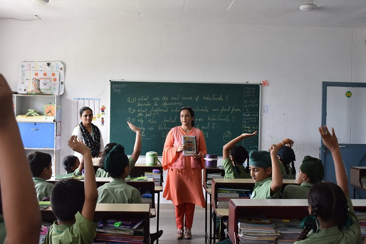 Gobind International Public School-Classroom