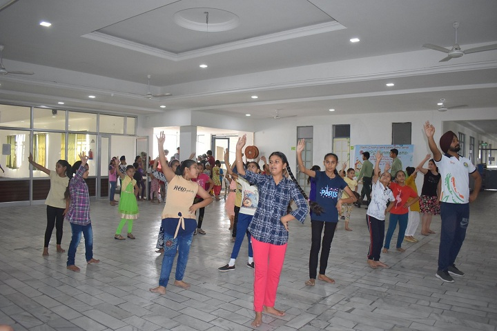 Gobind International Public School-Dance room
